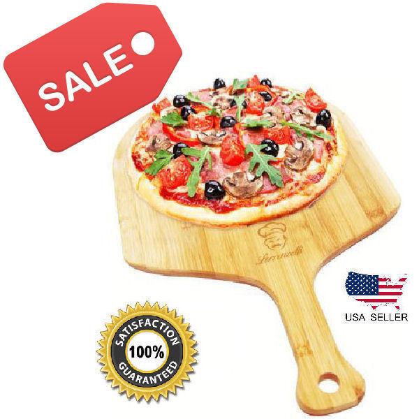 Pizza Peel/Paddle/Shovel. Bamboo Wood. Slide pizza/bread int
