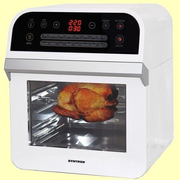 MULTIFUNKTIONS-AIRFRYER Heißluftgarer Heißluftfritteuse Küchenmaschine  SYNTROX