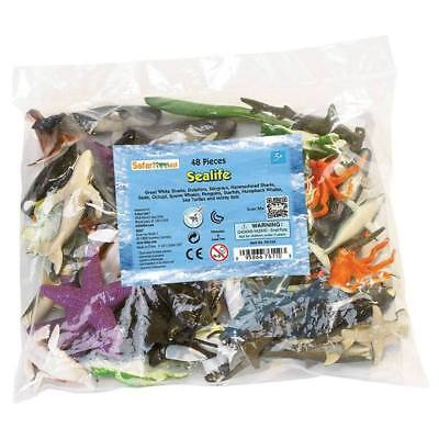 Sea Life Bulk Bag Mini Figures Safari Ltd New Toys Educational Creatures Kids