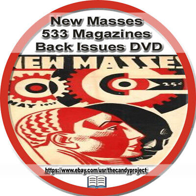 New Masses Magazine 533  pdfs DVD NAACP American Marxist Communist Party - Party Magazines