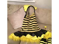Ladies Halloween bumble bee