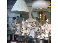 Ladbroke and nao figurines