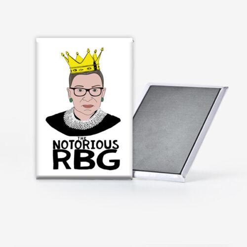 Notorious RBG Ruth Bader Ginsburg Refrigerator Magnet 2x3