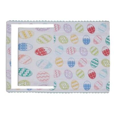 Placemat Napkin Set 1 Each Design Imports Easter Eggs Printed Reversible