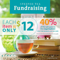 Fundraising with Steeped Tea