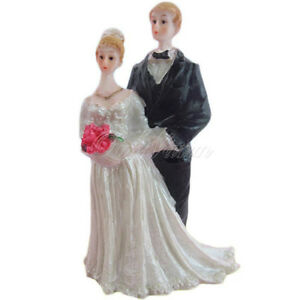 Wedding Cake Topper Decoration - Bride and Groom Couple - New