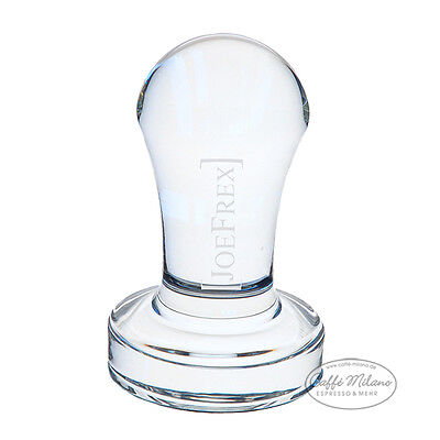 Tamper aus Glas Crystal Clear Concept Art Joe Frex 58 mm - Caffe Milano ()