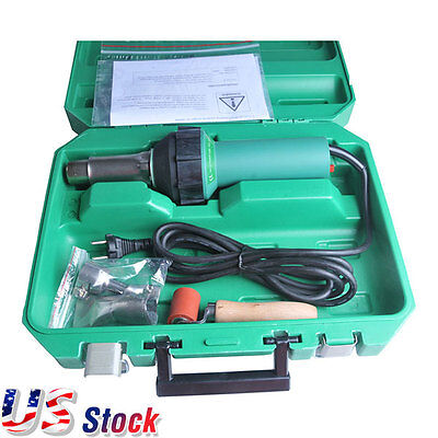 Ua Stock - 110v Affordable Easy Grip Hand Held Plastic Hot Air Welding Gun