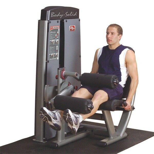 Body-solid Dlec-sf Pro Dual Leg Extension / Curl Machine 200lb Stack