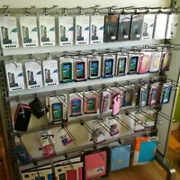 Glass screen protectors and cases for apple and samsung