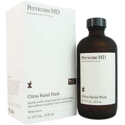 Perricone Md Citrus Facial Wash With Pump 6 Oz  177Ml  New In Box