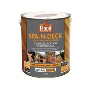 Flood - Spa N Deck 4L - Cedar Macleod Banyule Area Preview