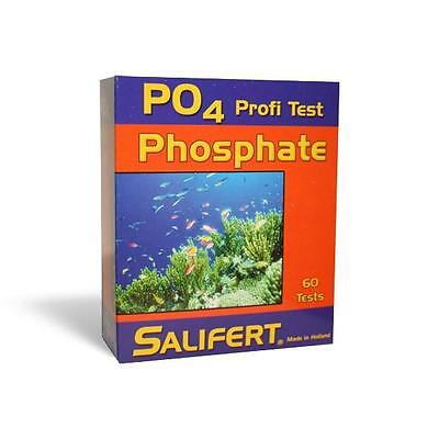 SALIFERT PHOSPHATE (PO4) AQUARIUM WATER TEST KIT - FRESH & MARINE FISH TANKS