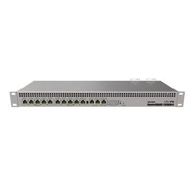 MikroTik 1U rackmount router RB1100AHx4 Dude Edition Quad Co