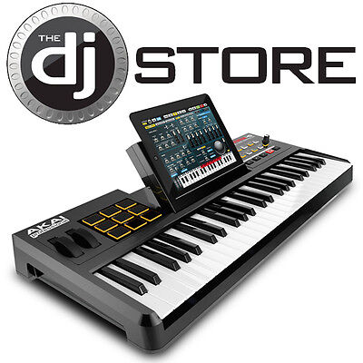 Akai SynthStation 49 Key Tablet Controller USB & Midi Keyboard Controller - New on Rummage