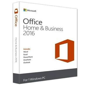 MS Office Home & Business 2016 PC
