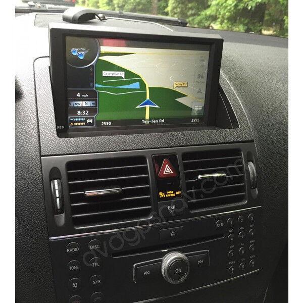 Mercedes W204 Navigation DVD GPS Head unit 8