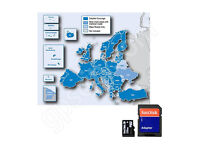 *BRAND NEW* Garmin City Navigator EUROPE + UK 2017 Map + Speed Cam Data Micro SD Card
