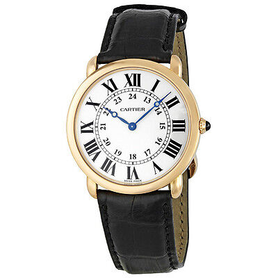 Cartier Ronde Louis Cartier Mens Watch W6800251
