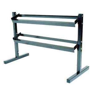 Dumbell Rack 2 Tier gym weights exercise