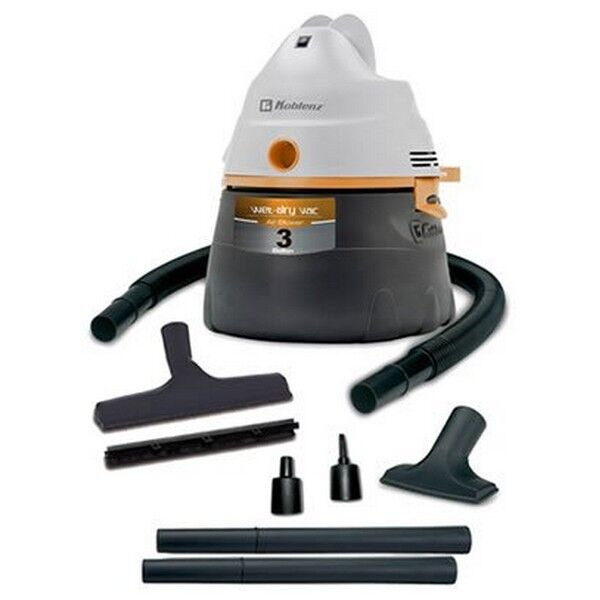 Koblenz Professional 3-Gal. Wet/Dry Vacuum Gray/Green WD354