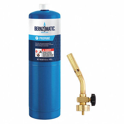 Bernzomatic Ul100 Solid Brass Propane Torch Kit Pencil Flame