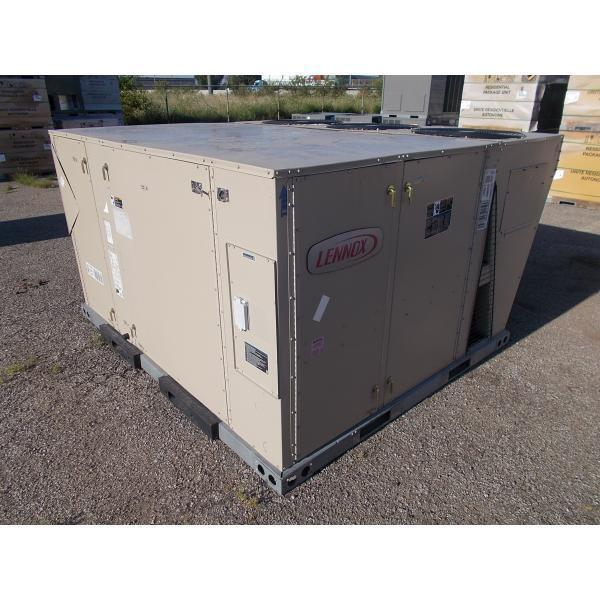 """LENNOX SCC120H4MF1G 10 TON """"STRATEGOS"""" ROOFTOP ELECTRIC A/C W/ELECTRIC HEAT"""