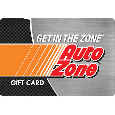 $100 AutoZone Gift Card For Only $90! - FREE Mail Delivery
