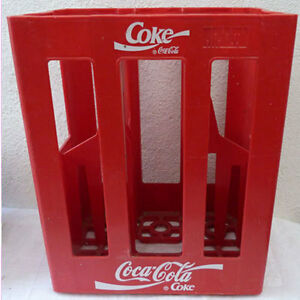casier porte bouteilles coca cola pour 6 grandes bouteilles ebay. Black Bedroom Furniture Sets. Home Design Ideas