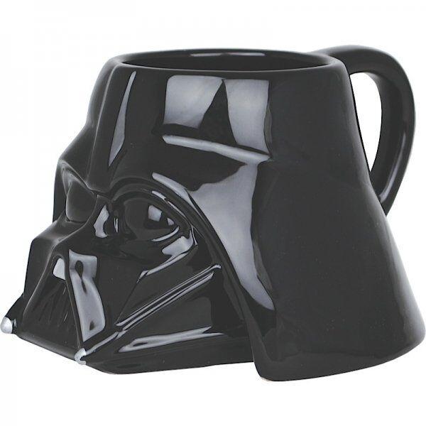 Star Wars DARTH VADER Helmet Shaped MUG - 3D Ceramic 500ml LARGE Mug