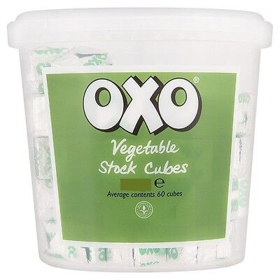 OXO VEGETABLE STOCK CUBES 378G CATERING PACK