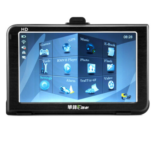 E-V5 Eroda HD TFT LCD monitor GPS Navigator 5 Inch Touch Screen with FM AVIN 012