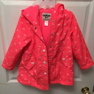 OshKosh Girls Fall Jacket Size 5T