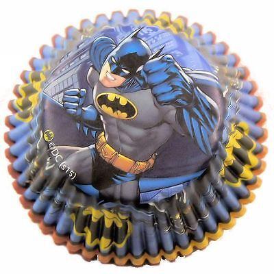Batman Cupcake Baking Cups 50 ct from Wilton #5140 - - Batman Cupcake Liners
