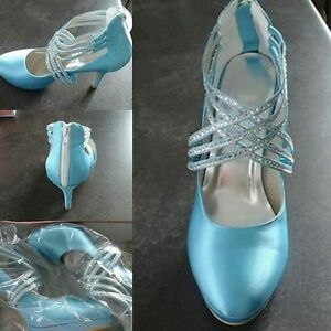 Chaussure Turquoise Chic