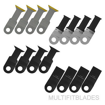 16pc Universal Bi-Metal Oscillating Tool Blades - Ryobi Job Plus Compatible