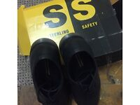 STEEL TOE WORK SHOES, BRAND NEW