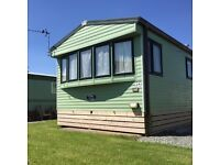 Static caravan holiday home ocean edge Morecambe Lancashire sea view beach 12 month park