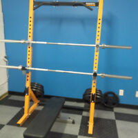 POWERTEC Workbench with weights *Great Condition*