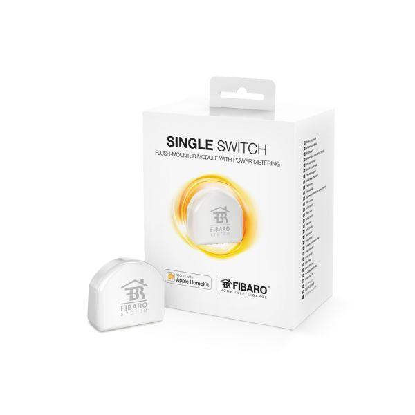 как выглядит Модуль для домашней автоматики FIBARO - Apple HomeKit Compatible Single Switch FGBHS-213 фото