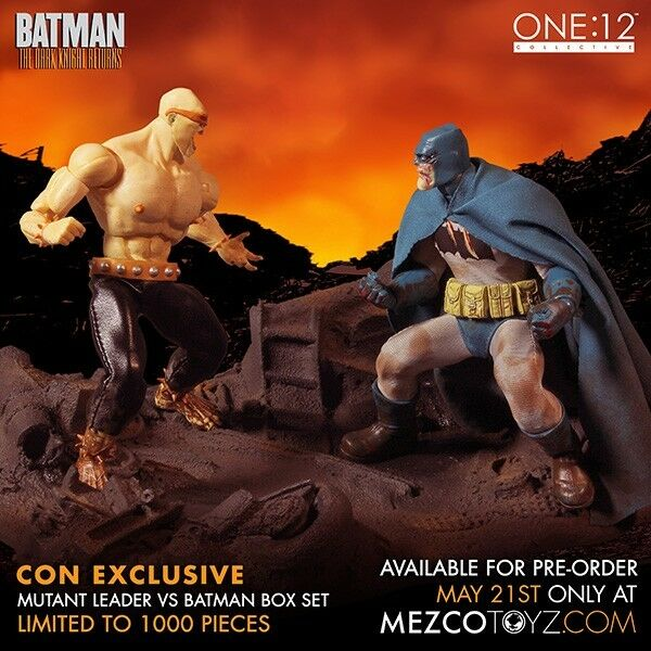 One: 12 Collective The Dark Knight Returns BATMAN vs MUTANT