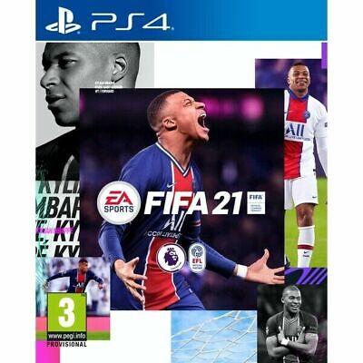 FIFA 21 2021 PS4 GIOCO NUOVO SIGILLATO ITALIANO DVD PREVENDITA USCITA 9 OTTOBRE