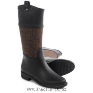 Chooka Women Candice Riding Rain Boots - Brown - BNIB - SZ 7 & 8