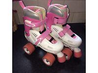 Adjustable SFR Storm Quad Roller Skates - Jnr12 - 2