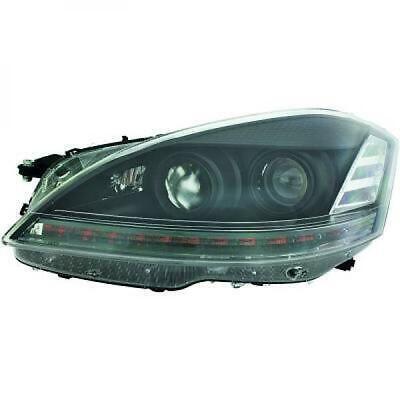 Scheinwerfer Set für Mercedes S-Klasse W221 2006-2009 Klarglas/Schwarz Xenon