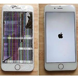 IPhone screen replacement. Iphone6 $80 iphone6 plus $100