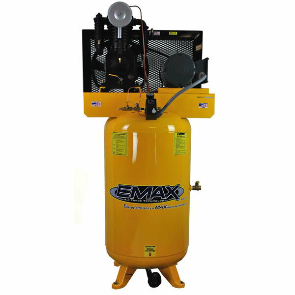 Emax 5-hp 80-gallon Two-stage Air Compressor (208/230v 1-phase)