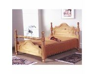 WANTED wooden double bed frames
