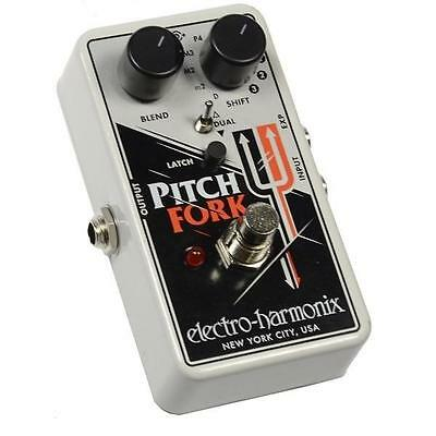 Electro Harmonix Pitch Fork Polyphonic Pitch Shifter Pedal New