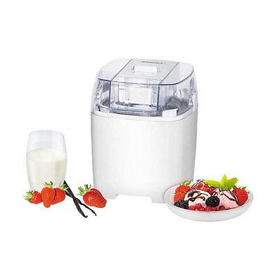 STEBA IC 20 Eiscreme-Bereiter 1,5 Liter Eismaschine Speiseeisbereiter weiß